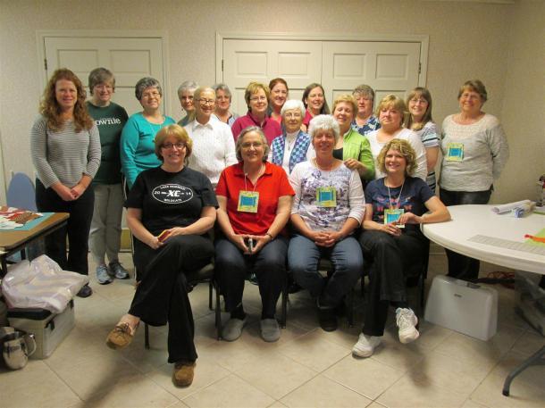 Twenty retreaters - from North Carolina, Ohio and Virginia!