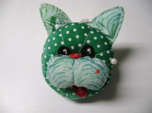 cat pincushion