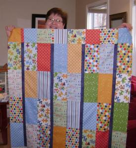 lucinda's baby quilt (Large)
