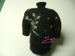 sweater pincushion