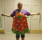 One of Christy's aprons