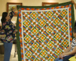 Amazing Bonnie Hunter quilt by Susan