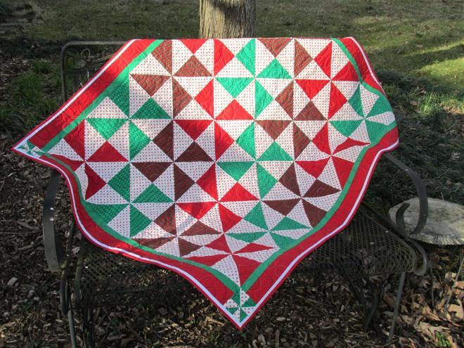 Christmas Pinwheel (Large)