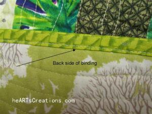 Back side of binding (Large)