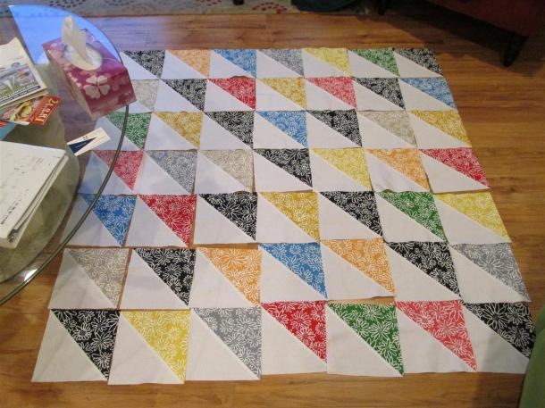 Hospice Quilt Top Layout