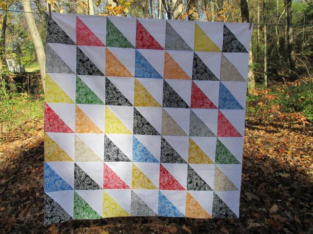 Completed Hospice Quilt Top
