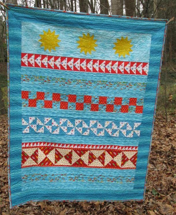 Florida quilt (Large)