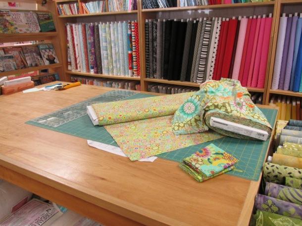 Fabrics to cut