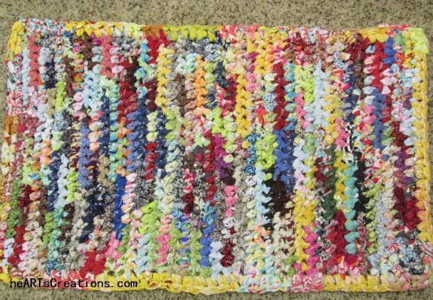 Scrap Crochet Rug (Large)
