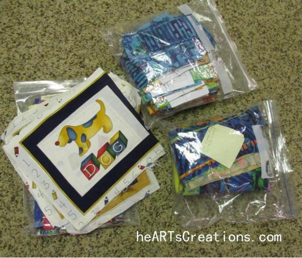 Charity Quilt Kits (Medium)