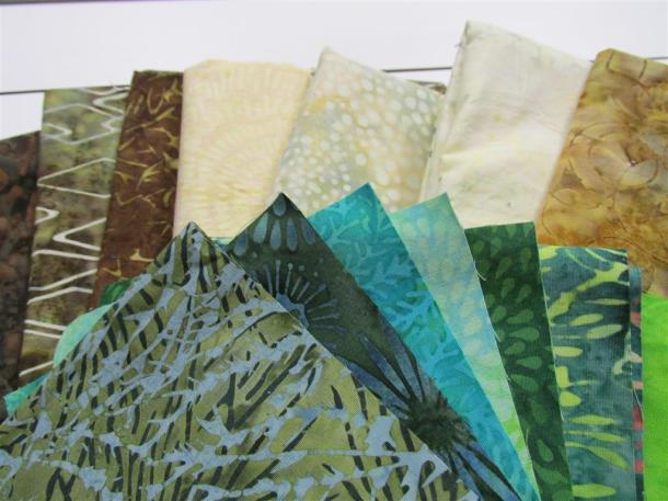 Baby quilt fabrics (Medium)