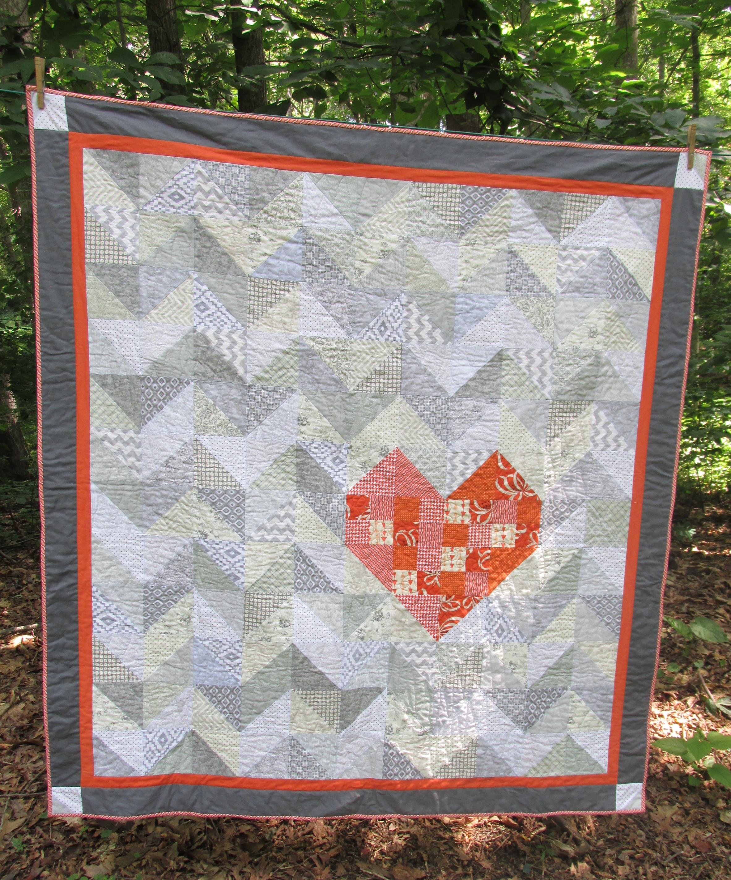 A Quilt For Love Hearts Creations