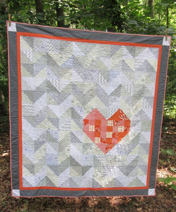 Heart Quilt 2 heARTsCreations.com