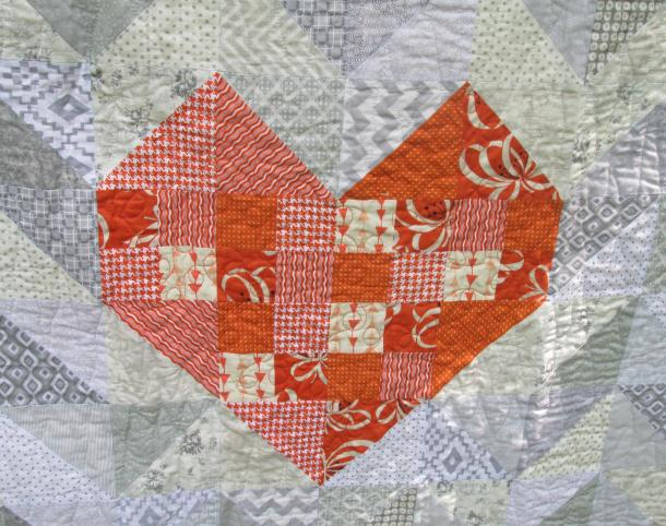 Heart quilt heARTsCreations.com