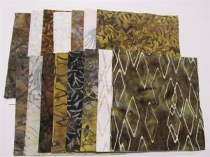 Island Batik Solstice stamps