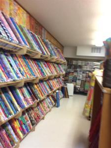 Wall of fabrics TQ (Medium)