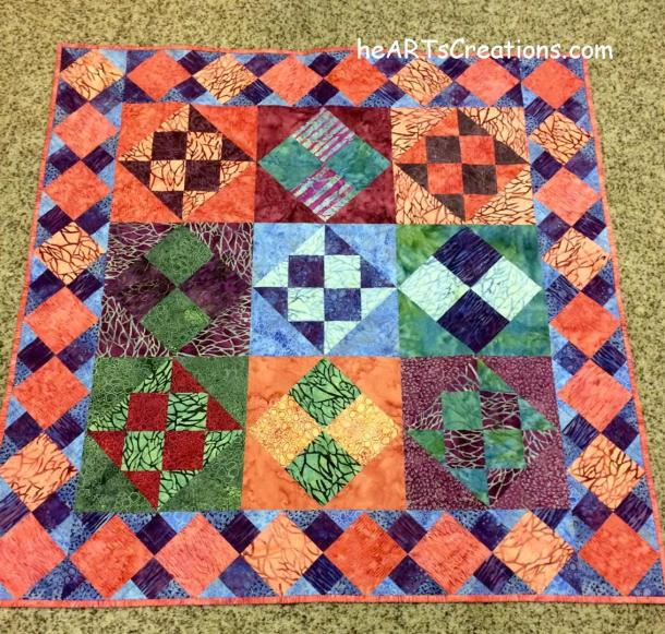Indian Summer quilt (Large)