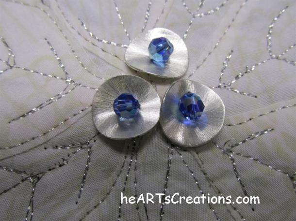 Poinsettia Beads closeup heARTsCreations.com (Medium)