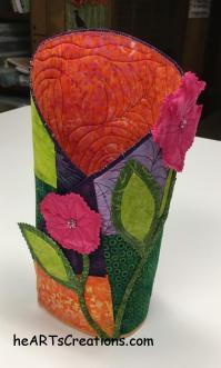 Vase front heartscreations.com
