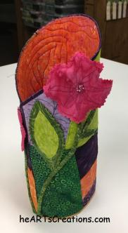 vase, right side
